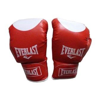 Găng đấm Boxing Everlast L1 (Đỏ)