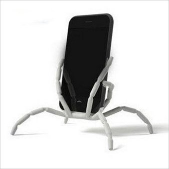 8 Leg Cell Phone Spider Holders Bicycle Mobile Phone Support - intl