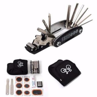 Bộ công cụ hỗ trợ vá lốp và sửa chữa xe đạp JP021