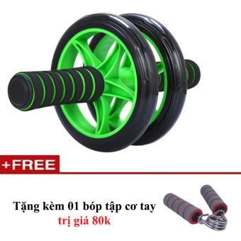 con lăn AB wheel thế hệ mới tặng kèm bóp tập cơ tay