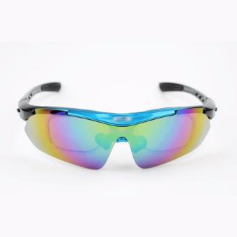 Bộ kính xe đạp thay mắt thể thao Okey 604