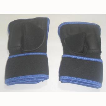 Găng tay tập tạ cao cấp Pando (Xanh đen)