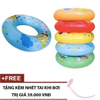 Phao bơi trẻ em HZ026 70cm (tặng kèm nhét tai)