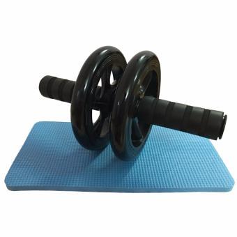 Bánh xe tập giảm mỡ cơ bụng AB Wheel (Đen)