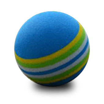 50pcs Golf Sponge Foam Ball Indoor Practice Traning Elastic (Intl)