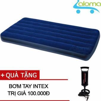 Đệm bơm hơi Intex 68757 kèm bơm tay (99x191x22cm)
