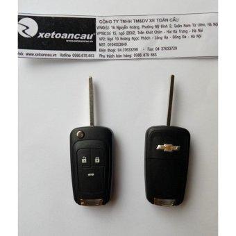 Vỏ chìa khoá dành cho xe Chevrolet Cruze, VOLACETTI Xe Toàn Cầu (Đen)