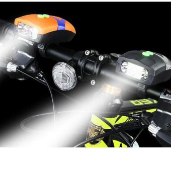 Đèn Pin LED kiêm còi báo trên xe đạp BT99.101(Đ)