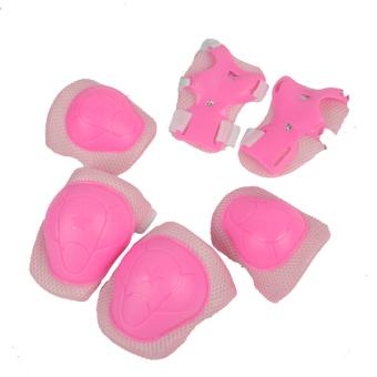 Bộ 6 miếng bảo vệ tay và chân cho bé 2-6 tuổi (Hồng)