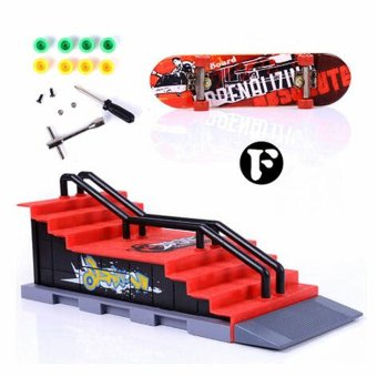 6 Types Skate Park Ramp Parts for Tech Deck Fingerboard Ultimate Parks F - intl