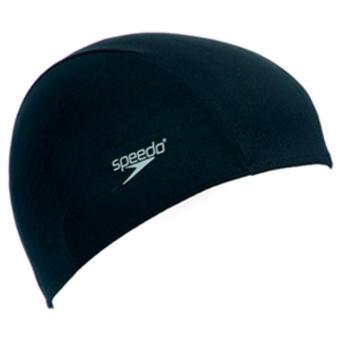Mũ bơi Speedo 8-710080000 Polyester Cap Assorted (Đen)