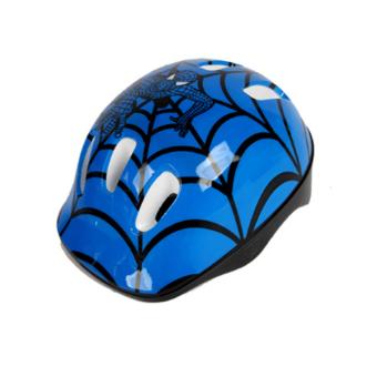 Mũ bảo hiểm cho bé chơi thể thao (Xanh người nhện)