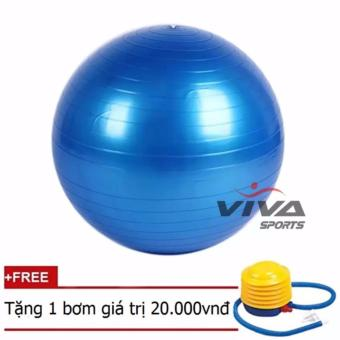 Bóng Tập Yoga trơn (Xanh)