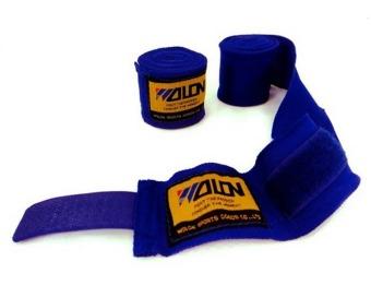 Bộ 2 cuộn băng quấn tay boxing Wolon (Xanh)