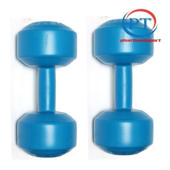 Bộ 2 tạ tay nhựa 5kg phucthanhsport