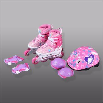 Giày patin Disney Barbie DCY41181-B (Hồng)
