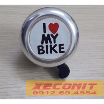 Chuông gạt xe đạp I Love My Bike