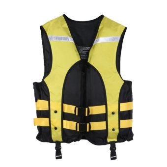 Adult Water Sports Gilet Swimmer Jackets Life Saving Vest (Yellow) - intl