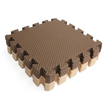 10x Eva Foam Puzzle Exercise Play Mat Interlocking Floor Soft Tiles 12x12'' - intl