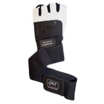 QNT Long Strap Fitness Gloves  Găng tay(size XL)