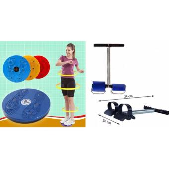 Bộ dụng cụ tập cơ bụng eo lưng