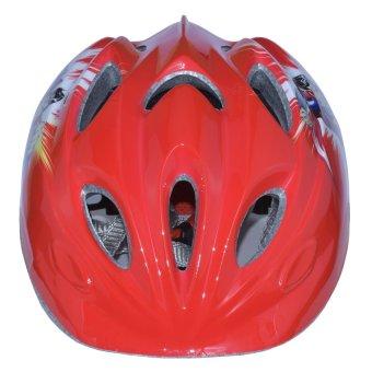 Mũ Bảo Hiểm Trẻ Em Trên 3 Tuổi Siêu Nhân (Đỏ)