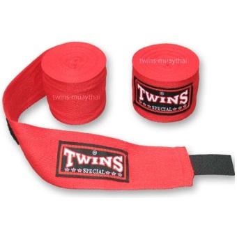 Băng đa quấn tay Twins Kick Boxing Muay MMA (Đỏ).