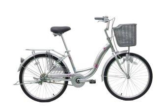 Xe đạp thời trang cao cấp E 24 CTB (Bạc)