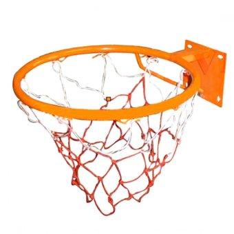 Vành bóng rổ 50cm (Cam) kèm lưới
