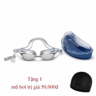 Kinh bơi Shenyu tráng bạc chống tia UV tặng kèm mũ bơi