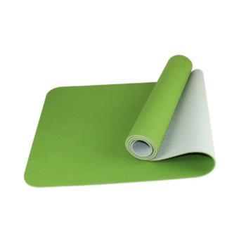 Thảm tập Yoga Kama 2 lớp TPE L1(Xanh Lá)