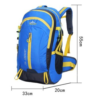 Waterproof Sport Backpack (Blue) - Intl