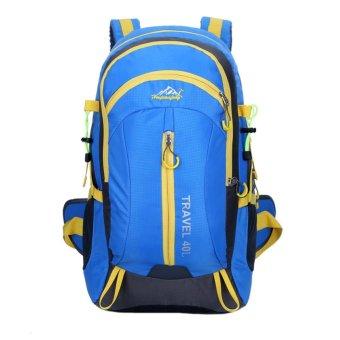 Waterproof Sport Backpack (Blue) - Intl