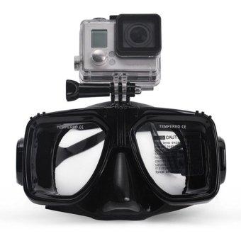 GoPro Hero2 3 3+ 4 Scuba Diving Glasses Goggle Swimming Face Mask Snorkel Camera - Intl