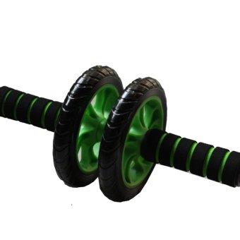 Dụng cụ Tập thể dục Cơ Bụng Bánh Xe AB (Xanh)