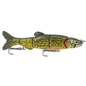 Mồi cá giả Matzuo Doragon Minnow 6 nặng 39 gram, dài 16.51 cm, lặn sâu 0.9 - 1.5 m (Pike)