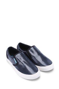 Giày lười QuickFree W130210-003 (Xanh navy)