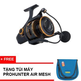 Máy Câu Cá Penn Spinning Reel Clash Cla6000 9bb+ tặng túi máy prohunter air mesh