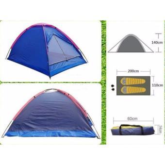 Lều Trại Du Lịch Cho 2 Người (Xanh ngọc)