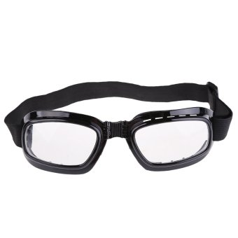 New Folding Pocket Motorcycle Windproof Glasses - INTL
