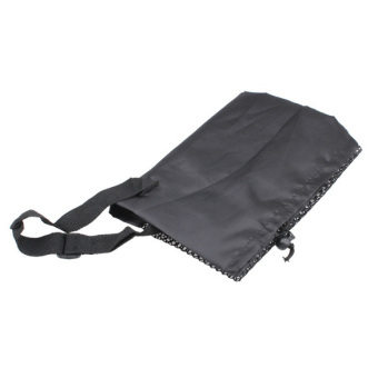 Fine Nylon Yoga Mat Bag Carrier Mesh Center Black W(Intl)