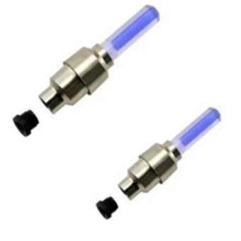 Bộ 02 Đèn LED Gắn Bánh XD01 (Xanh)