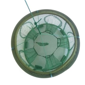Portable Foldable Fishing Trap Cast Net Crab Fish Minnow 70X25cm- - intl