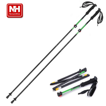 NatureHike 5 Sections Ultralight Adjustable Telescopic Alpenstock - intl