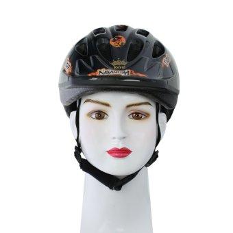 Nón bảo hiểm xe đạp Royal MH007 (Đen có họa tiết)