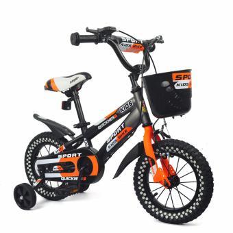 Xe đạp cho bé Sport 12 (Cam)