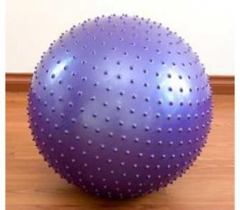 Bóng tập Yoga/Gym có gai 65cm màu tím