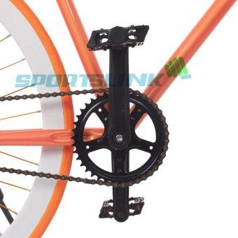 Xe đạp Fixed Gear Single (Cam phối trắng)