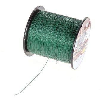 500M PE 4 Braided Fishing Line Strong Braided Lines Strands Wire 25LB - intl