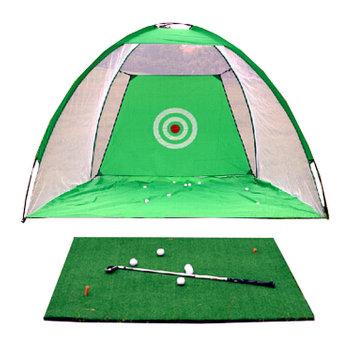 Bộ thảm và lưới tập golf di động VanDat